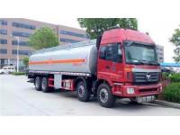 福田欧曼前四后八23-28吨油罐车