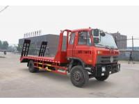 程力威牌CLW5161TPBT4型平板运输车