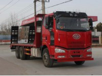 程力威牌CLW5250TPBC4型平板运输车