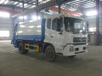 华通牌HCQ5123ZYSDFL型压缩式垃圾车