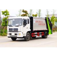 东风天锦8-14方压缩式垃圾车