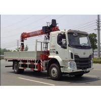 程力威牌CLW5180JSQL6型随车起重运输车