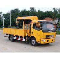 程力威牌CLW5110JSQE5型随车起重运输车