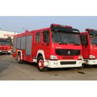 重汽豪沃6吨水罐消防车