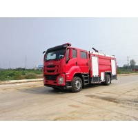 江特牌JDF5172GXFPM60/Q6型泡沫消防车