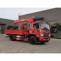 程力威牌CLW5160JSQB6型随车起重运输车
