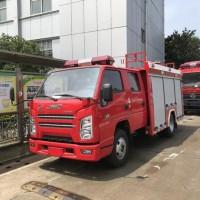 江特牌消防车 江铃2吨水罐消防车