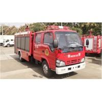 江特牌2吨消防车 国六五十铃2吨泡沫消防车